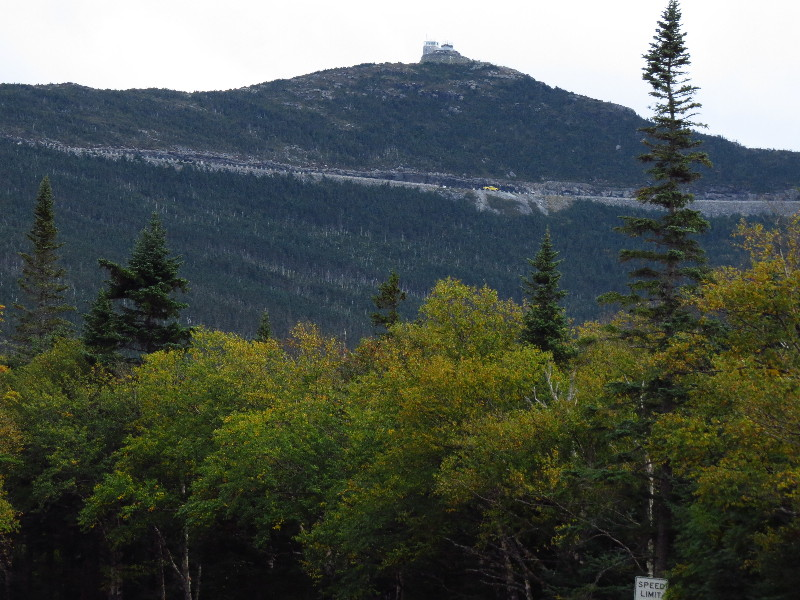 Castle on top Mount Whiteface, NYS