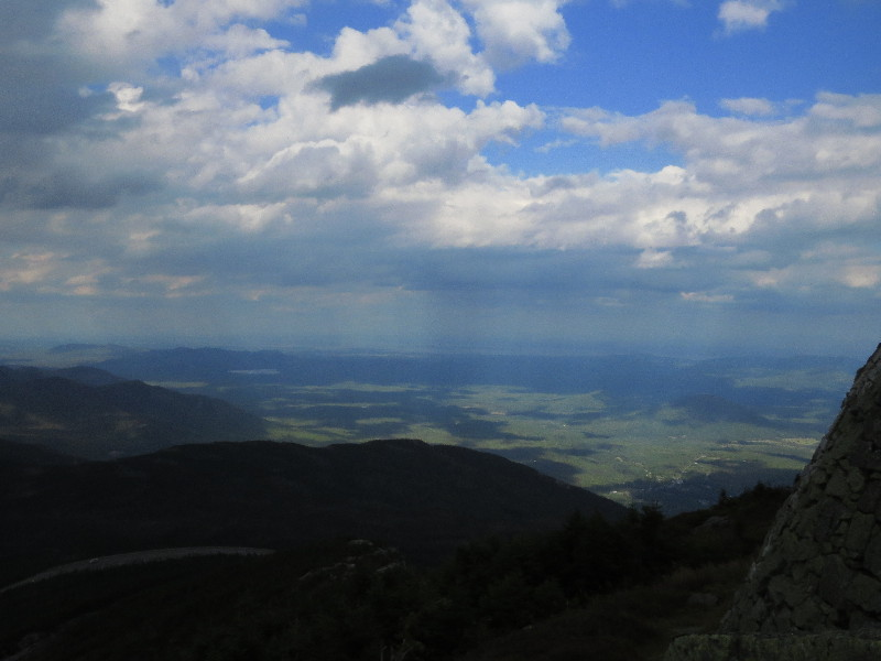 Mount Whiteface – Inverted Sunrays, Inverted Fish Heads And Cloud Collectors