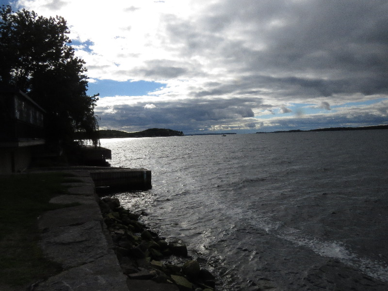 The St. Lawrence River at Clayton, NYS
