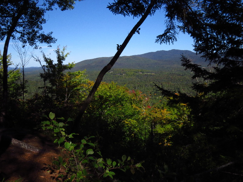 On Rocky Knob trail, Henry's Woods Preserve, Adirondacks, NYS