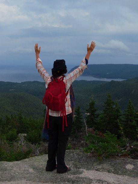 Conquering Mount Franey, Cape Breton