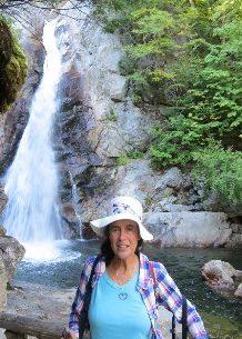 At Glen Ellis Falls, White Mountains