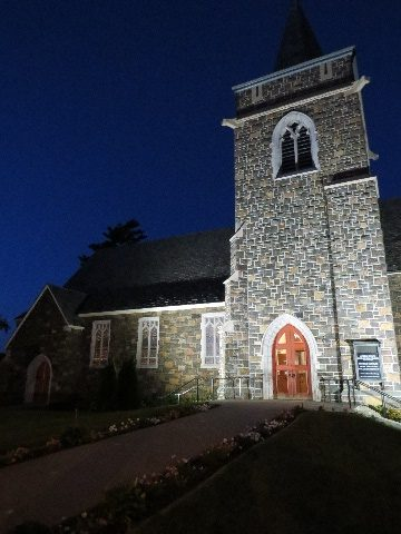 Church in Lake Placid, NYS