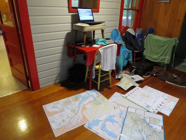 Planning the second part of my North American camping trip