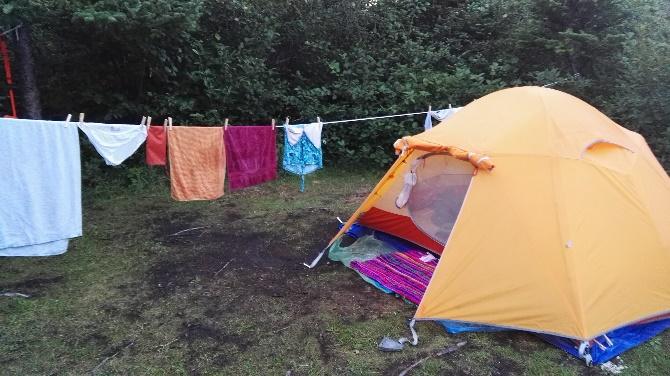 Tenting at KOA, Gros Morne, NFL