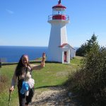By the lighthouse, Land's End, Forillon, Gaspe