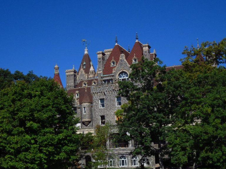 Close view of Boldt Castle. Uncle Sam Boat Tours, 1000 Islands