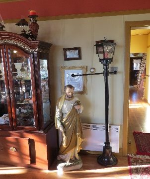 St. Joseph at B&B lobby, Route 132, Gaspe Peninsula, QC