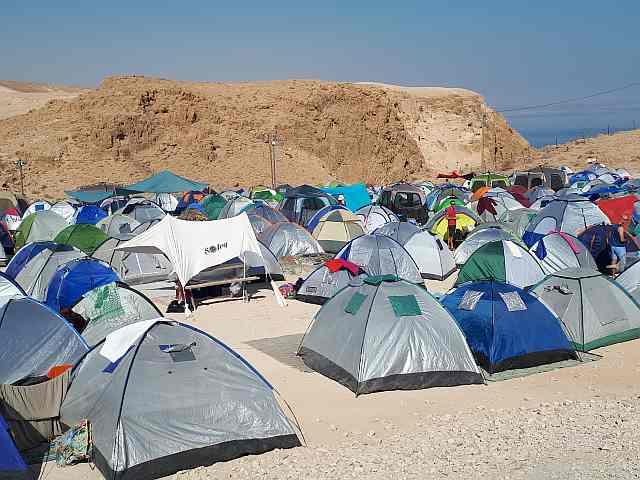 Nataraj festival camping, Metzokey Daragot, Nov 2017