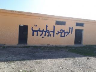 """Wall graffity - Dead Sea. Kalya """"Gallery minus 430"""""""
