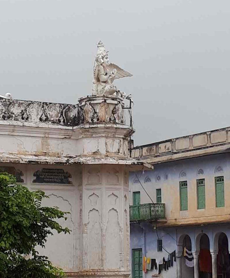 Garuda, Vishnu's vahana (carrier)? Pushkar