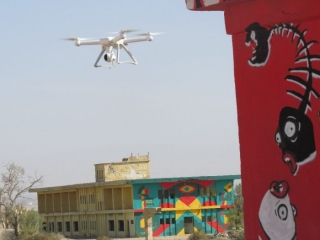 Play drone over old Jordanian base, Project Gallery Minus 430.Kalya