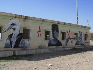 Monumental murals. Galley Minus 430. Kalya