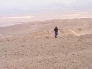 Watching the expanse. Arava, Israel