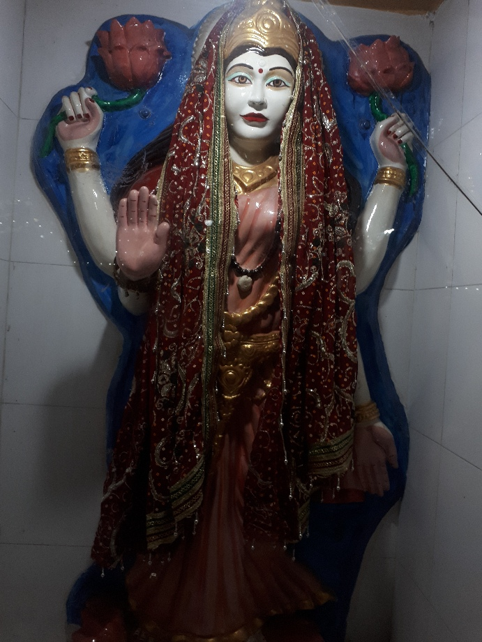 Goddess lakshmi, Ladies Temple, Amritsar, Punjab