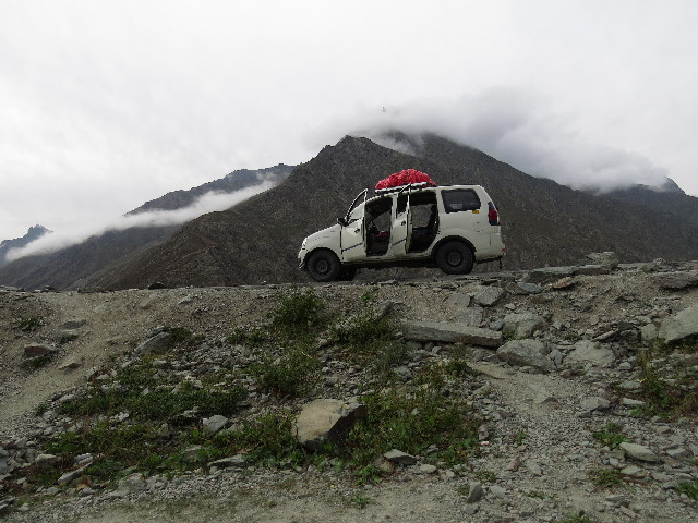 Our jeep, Manali to Leh. Ladakh