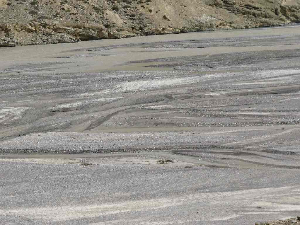 RIver Patterns, Road Manali-Leh