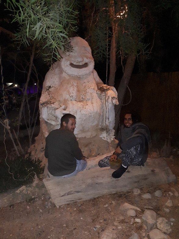By Zorba the Buddha. Shittim Arava, Israel, 2019,