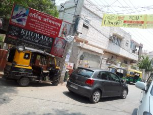 A quiet corner on an Amritsar street