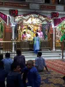 Mata lal Devi revered at her shrine in Amritsar, Punjab.
