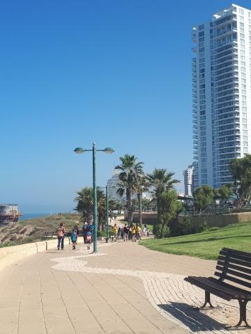 Netanya's Promenade
