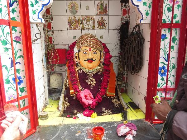 Deity On Streetside, Udaipur