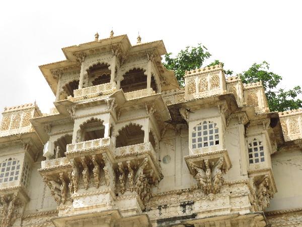 City Palace up close, Udaipur, Rajasthan