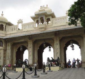 Entrance to City Palace, Udaipur