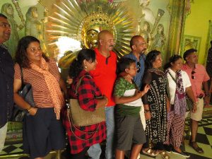 Family picture with royal Sun, Udaipur City Palace