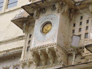 Sun face, dial at City palace, Rajasthan