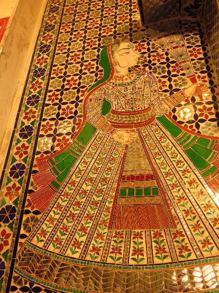 Intricate royal art