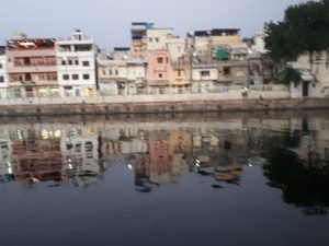 River evening view, Rajasthan