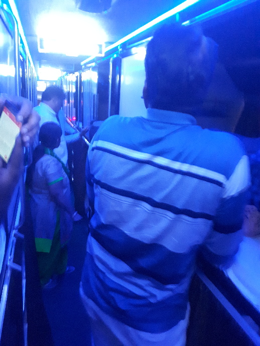 On the Sleeper bus from Udaipur to Ajmer