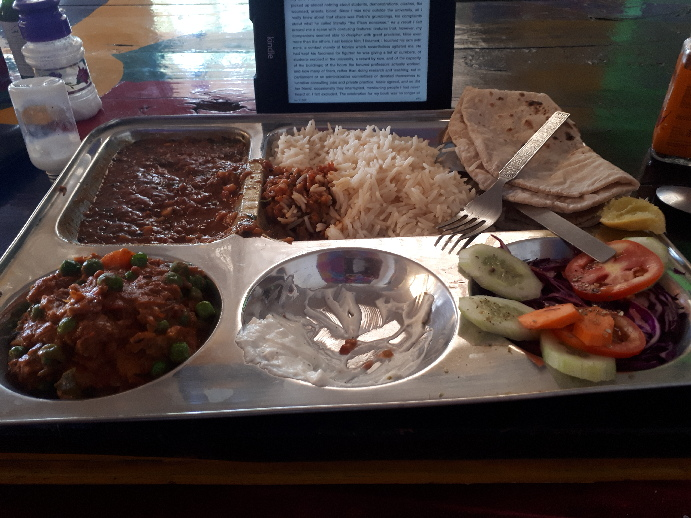 Special Thali, Mango Tree Cafe, Pushkar, Rajasthan