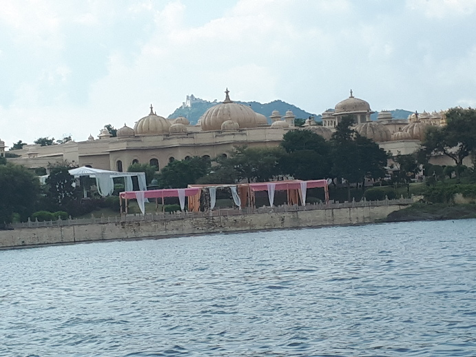 Views from Lake Pichola Boat Ride, Udaipur