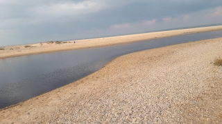 "Alexander ""River"" estuary by Beit Yanai"