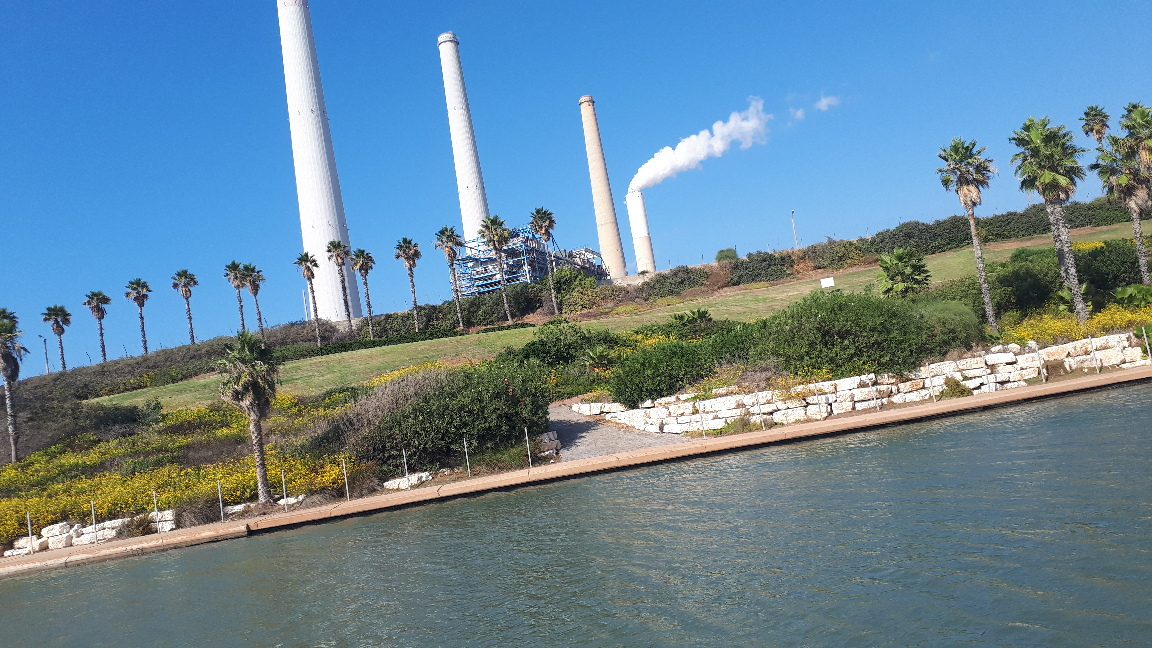 Hadera power plant and desalination station, Sharon