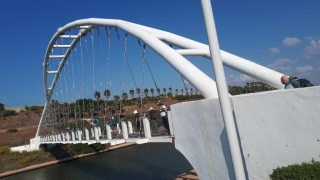 "Bridge over Hadera's ""River"", Sharon"