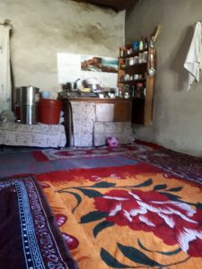 The everyday kitchen at Rinchen's house, Likir, Ladakh.