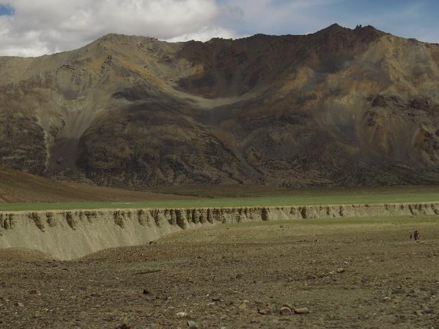 Beautiful erosive patterns on Manali-Leh Road, Ladakh