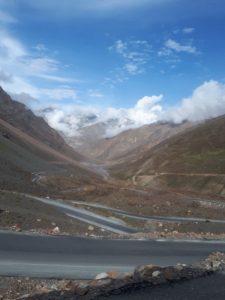Climbing to the pass, Ladakh