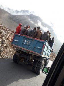 HImalayan truck on the Manali-Leh Road, Ladakh