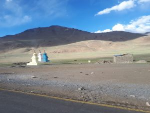 Mani on way to Leh, Ladakh