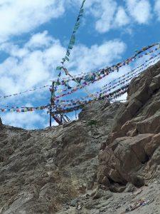 Flags at Namgyal Tsemo Monastery, Leh