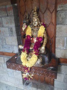 Deity. Manu's shrine, Manali, Himachal Pradesh