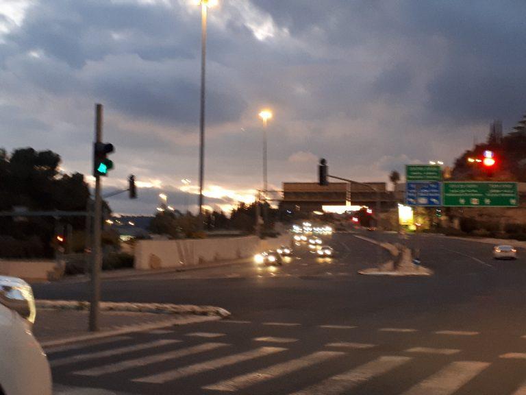 Hertzog highway, Jerusalem