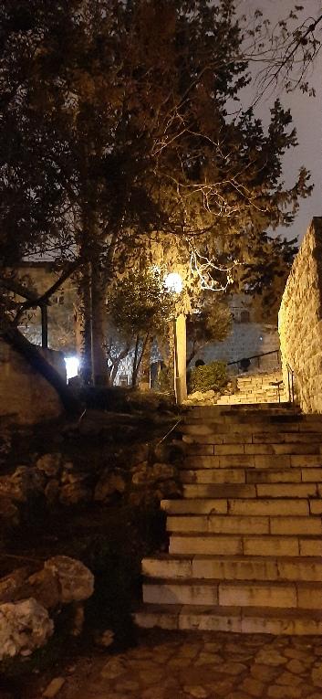 Yemin Moshe stairs, Jerusalem