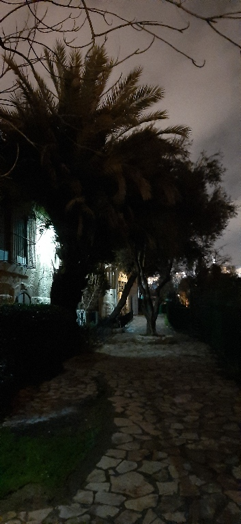 Yemin Moshe at night, Jerusalem