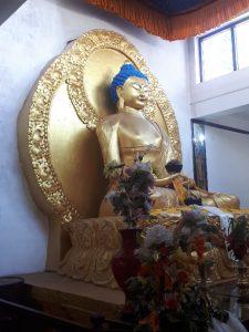 Buddha, temple, Leh