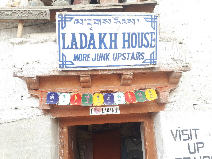 More Junk Upstairs - Ladakh House, around the corner from Peace Guesthouse